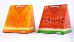Kleenex fruit wedge packaging illustrations for Kimberly-Clark