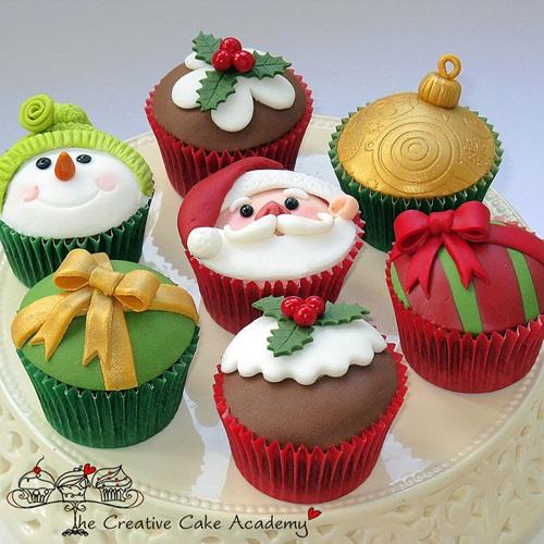 ideas-para-decorar-cupcakes-de-Navidad